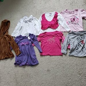 Huge 3T girl winter tops long sleeve